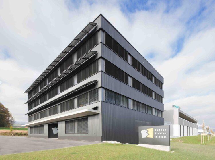 Gewerbegebäude Reppisch West, Muri - Bütler