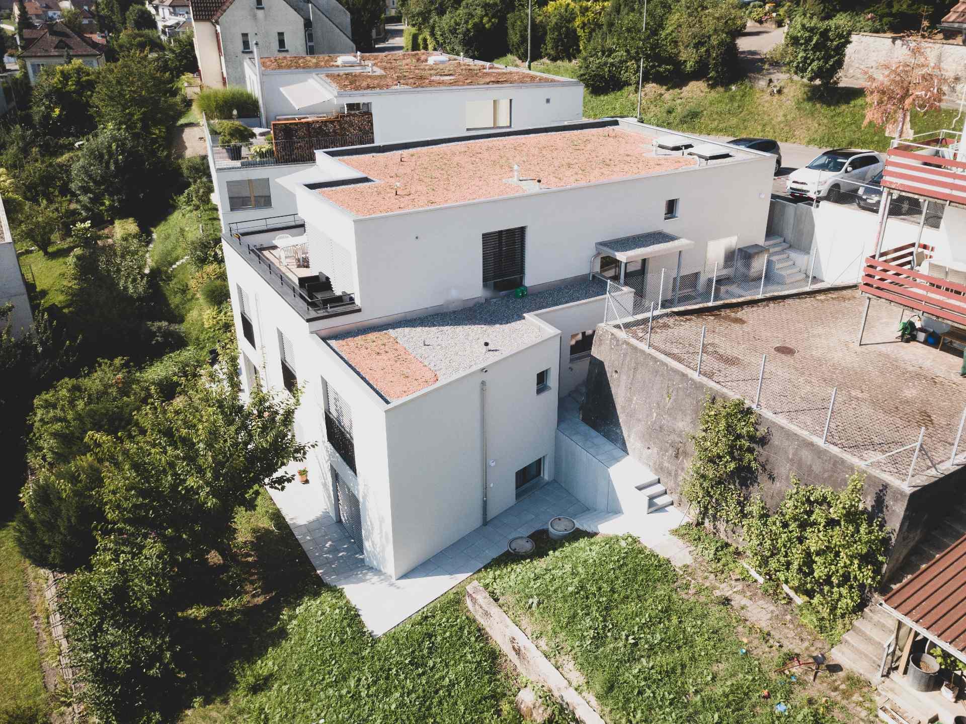 Aufstockung Wohnhaus, Muri